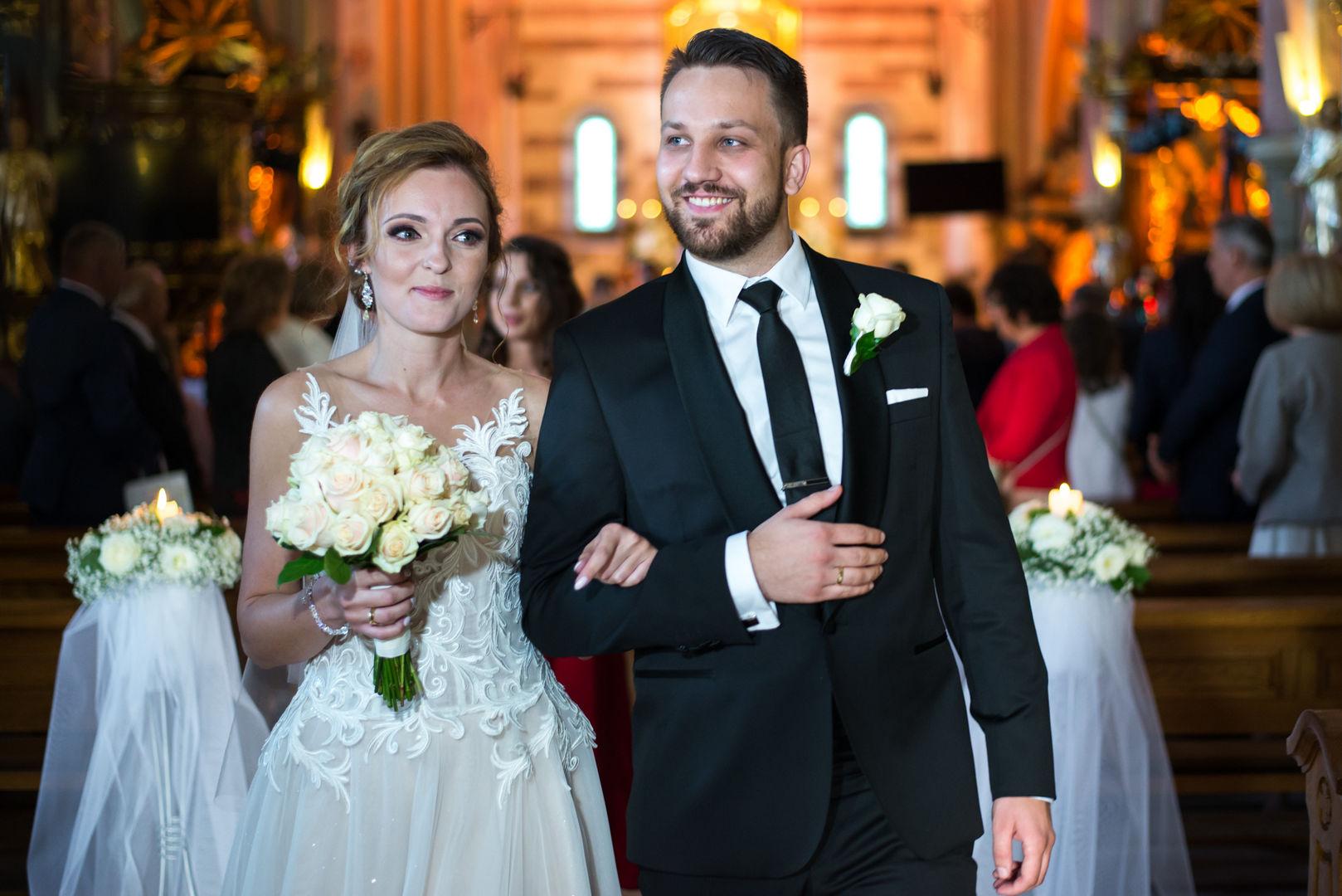 Ślub w Opactwie Cystersów w Wąchocku