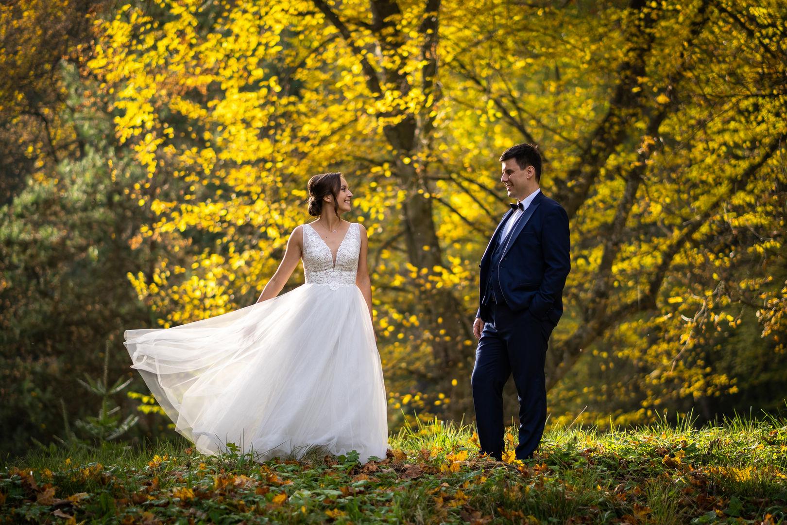 Jesienny taniec w Ojcowskim Parku Narodowym